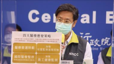 3例印度變種病毒移入 張上淳:出現台灣變種病毒機率低