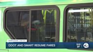 DDOT and Smart bus systems resume fares