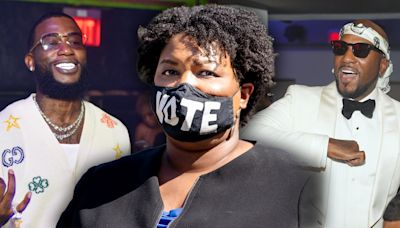 Stacey Abrams drops into historic Verzuz rap battle to encourage Georgians to vote in critical Senate runoff races: 'Let's get it done'