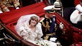40-year-old slice of Diana and Charles' wedding cake is set for auction