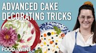Advanced Cake Decorating Tricks with Flowers and Berries   Bronwen Wyatt   Chefs At Home
