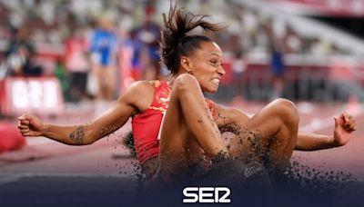 Ana Peleteiro consigue la medalla de bronce en la final de triple salto