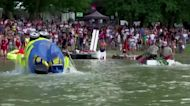 Danube river race goes green and wacky