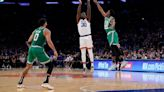 Knicks withstand Brown's 46, outlast Celtics 138-134 in 2 OT