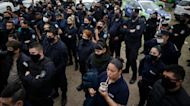 Argentina police protest to demand better pay and conditions