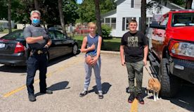 Michigan police hail 2 boys for returning cash-filled wallet