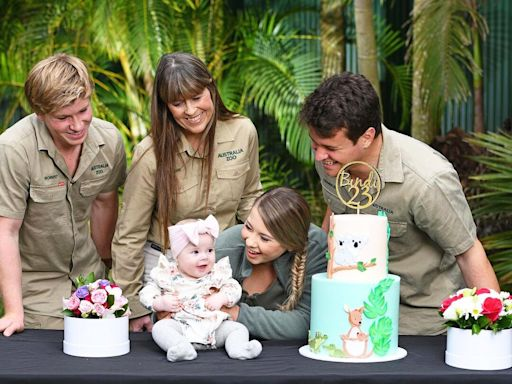 Bindi Irwin Celebrates 'First Birthday as a Mama' with Daughter Grace and Husband Chandler Powell