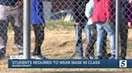 Wilson County elementary school students now wearing masks following mandate