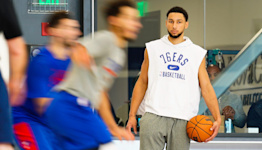 76ers kick Ben Simmons out of practice, suspend him for one game for 'conduct detrimental to team'