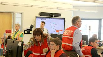 Earthquake simulation sets the stage for emergency response training | Bellevue Reporter
