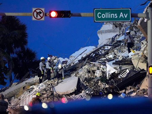'Tragedy without precedent': Condo building partially collapses near Miami; at least 1 dead, 99 unaccounted for