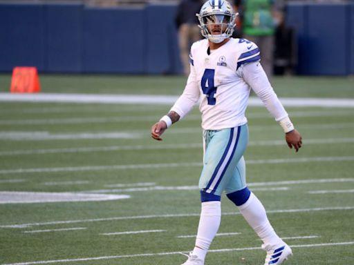 Cowboys Announce Why Dak Prescott Left Practice Early