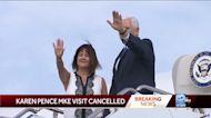 Karen Pence's Milwaukee visit canceled