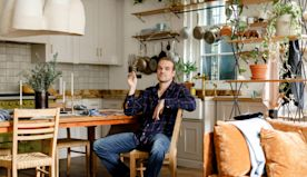 Inside David Harbour's Perfectly Reconstructed New York Loft