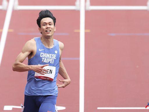 奧運跑進準決賽的男人 陳奎儒5連霸不滿意