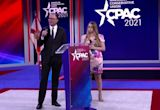 CPAC crowd boos when asked to wear masks