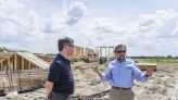 Island resettlement's homes designed to help weather storms