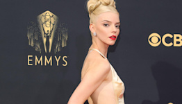 Anya Taylor-Joy Wore the Most Dramatic Dress on the Emmys Red Carpet