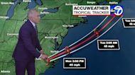Tropical Storm Claudette moves up along the coast