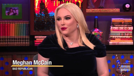 Meghan McCain Confronted by Andy Cohen Over 'Hypocritical' Tell-All Book