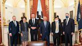 立陶宛外長會美國會議員 雙方暢談立國挺台議題
