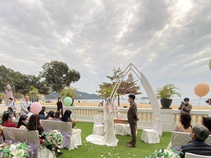 婚禮宴會漸復甦 準新人「急單」湧現 預訂數月內檔期 千人活動分拆舉行