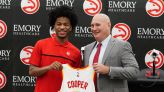 'The draft is in the past': Sharife Cooper locked in with the Hawks