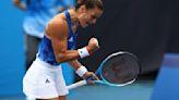 Olympics-Tennis-Greece's Sakkari celebrates birthday with second round win