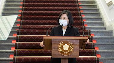台灣近期挫折令蔡英文支持率下滑