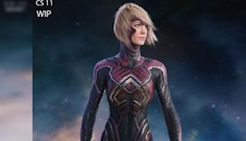 Captain Marvel Concept Art Shows A Very, Very Different Look For Carol's Starforce Uniform