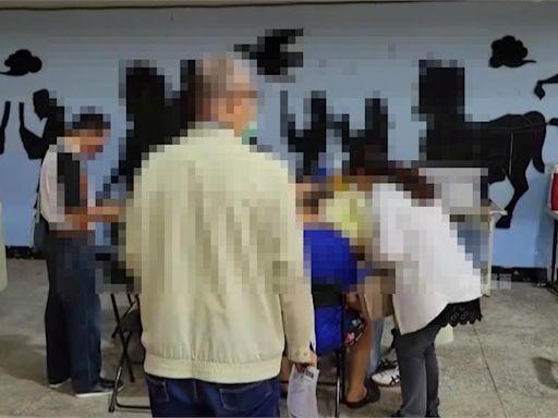 台南造冊接種長者未上網預約 里長幫登記累翻-台視新聞網
