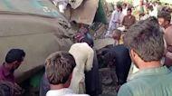 Train collision in Pakistan kills dozens