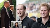 William 'threw Harry out' after 'bust-up over Meghan bullying allegations'