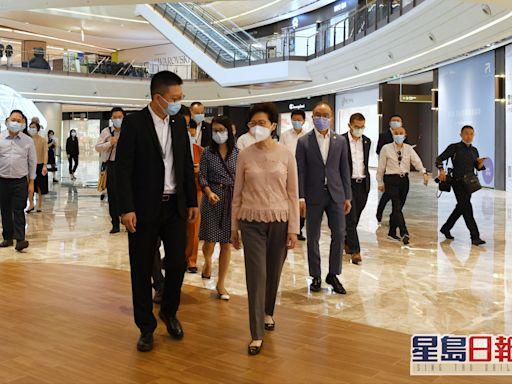 林鄭月娥考察重慶企業 冀港企可進一步參與兩江新區建設