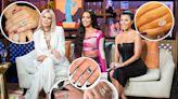 Kardashian-Jenner family engagement rings through the years