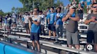 Fans attend Lions training camp for the first time in two years