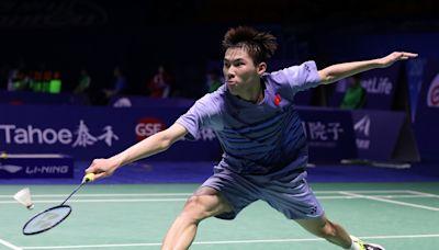 羽毛球|李卓耀不敵安賽龍 無緣丹麥羽賽決賽