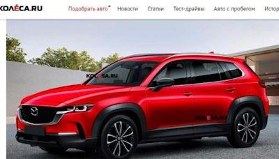 Mazda 全新 CX-60 休旅預測外型出爐!車室空間有望比 CX-5 還大 - 自由電子報汽車頻道