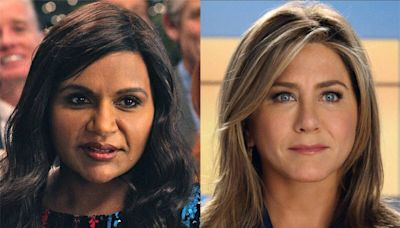 This Morning Show Scene With Jennifer Aniston & Mindy Kaling Couldn't Be More Awkward