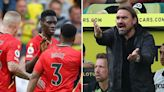 Norwich 1 Watford 3: Canaries remain pointless after Sarr double seals big win