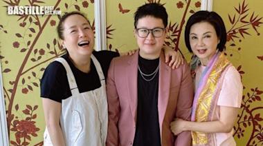 63歲恬妞罕見現身 攜女兒與謝玲玲聚舊 | 娛圈事