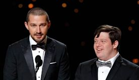 Honey Boy Director Defends Shia LaBeouf After Oscars Moment With Co-Star Zack Gottsagen