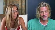 Brad Pitt Blushes as Jennifer Aniston Calls Him 'Cute' During Table Read