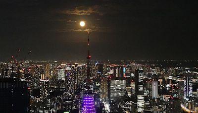 日本中秋滿月超美!東京「六本木之丘森大廈」成賞月勝地