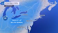 Thunderstorms set to roll through Northeast