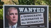 Prince Andrew 'WANTED' billboards appear in Britain as Duke dodges lawyers