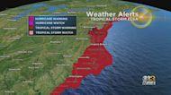 WJZ Weather Team Tracks Tropical Storm Elsa