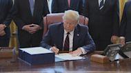 Trump signs $2.2 trillion coronavirus aid bill into law