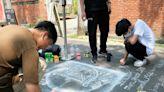 激發無限創作 百件繪畫作品中市青創基地展出