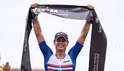 鐵人》順澤宮神帽+捷安特再發威! 挪威鐵人蟬連70.3世界冠軍